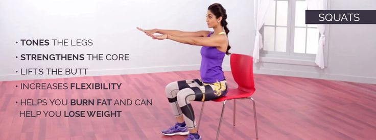 Shilpa Shetty | Squats | The Art Of Strengthening The squat is actually a natural position in Eastern cultures for eating, cooking, waiting and reading.