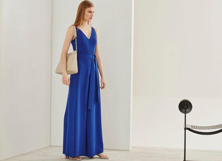 Palazzo Jumpsuit - Dresses | Adolfo Dominguez shop online