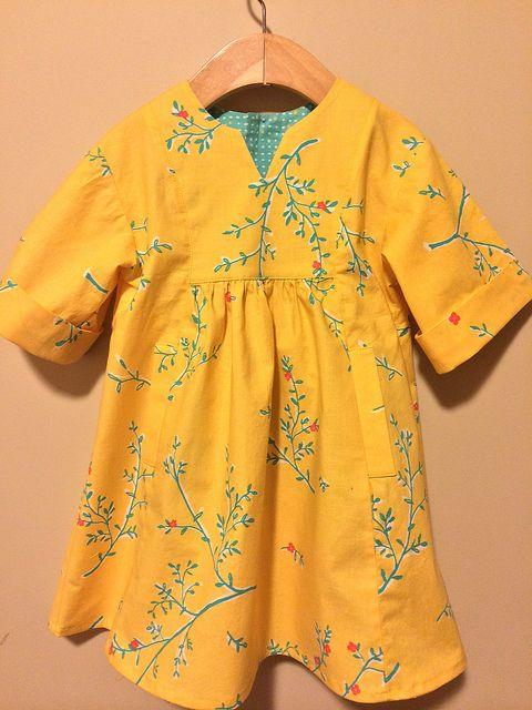 O + S Hide-and-Seek Dress by nightknitter, via Flickr