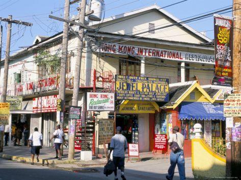 Main Street, Ocho Rios, Jamaica, West Indies, Central America Photographic Print by Sergio Pitamitz at Art.com