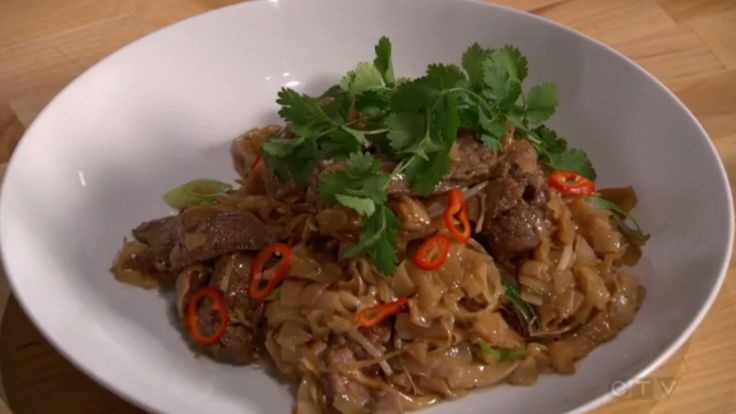 MasterChef Canada - Alvin Leung's Beef Stir-Fry with Rice Noodles