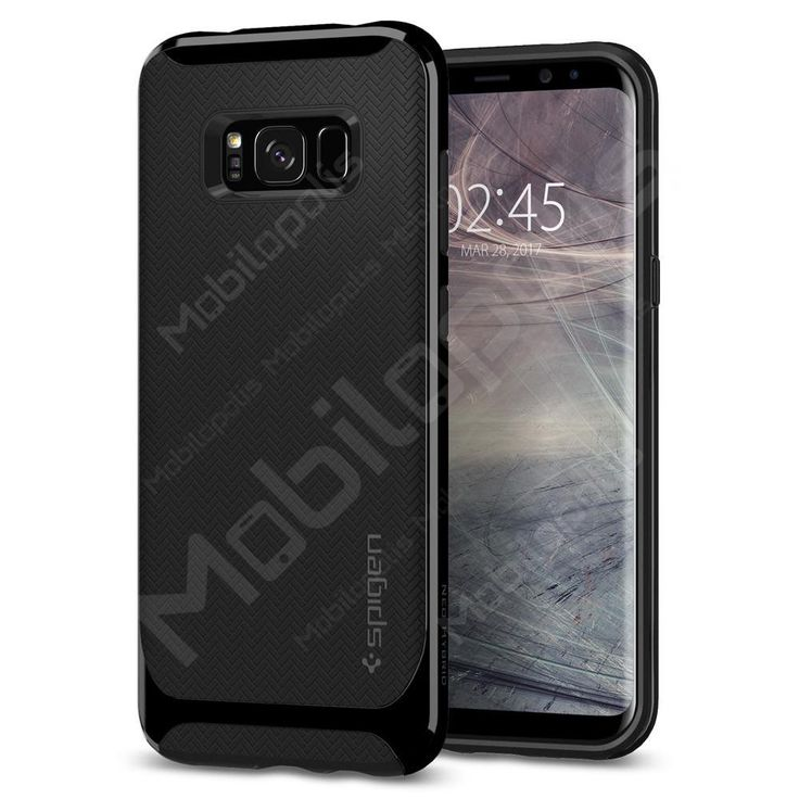 Kryt na Samsung Galaxy S8 Spigen Neo Hybrid černý lesklý