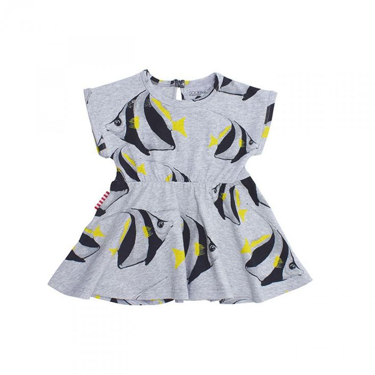 SOOKIbaby's Under The Sea Fit and Flare Dress for Baby Girls