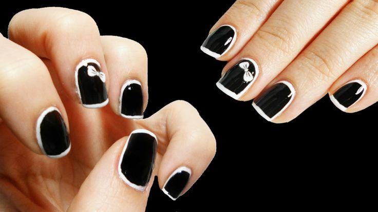 Stiletto Nails Tumblr | Border Nails | Anna Por Elas