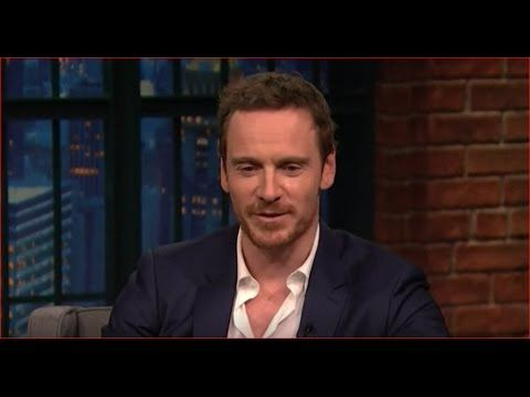Michael Fassbender interview with Meyers