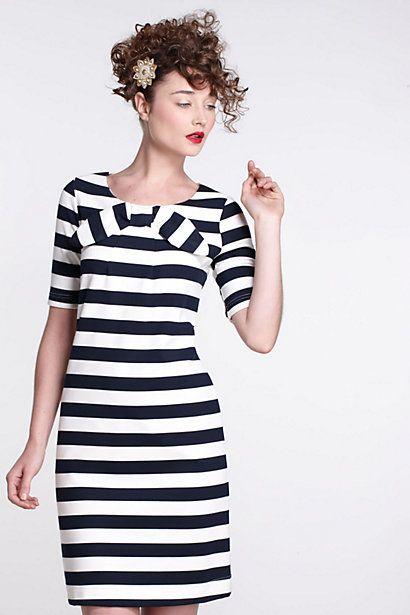 Stripes!: Stripes Anthropologie, Bow Dresses, Cute Dresses, Anthropologie Com