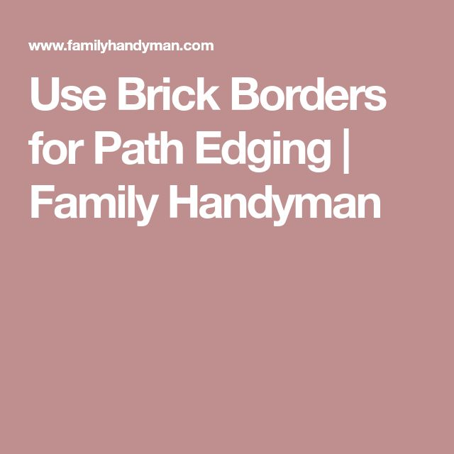 how to use pavers for edging