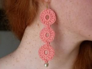DIY Crochet DIY Yarn DIY Crochet Pattern: Giselle Earrings