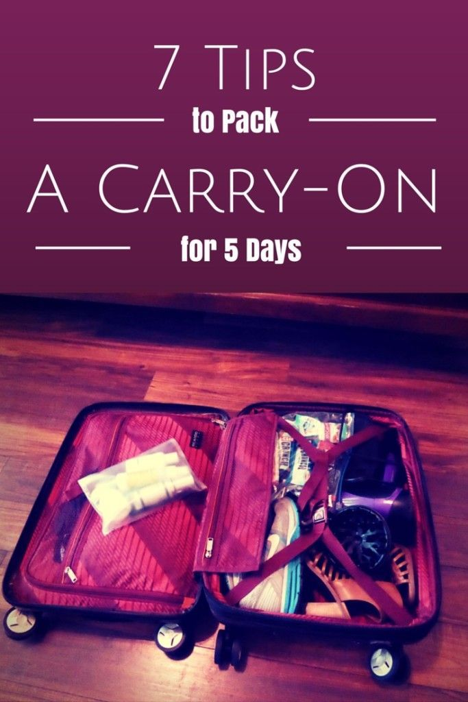 7 Tips to Pack a Carry On Suitcase | Ricardo Elite Roxbury 2.0