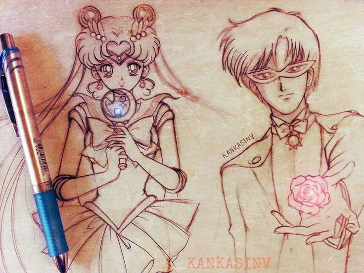 By KankasinV from Sailor Moon World on Facebook