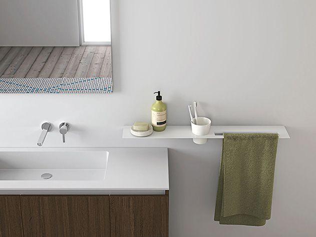 Oltre 25 fantastiche idee su arredamento bagno di servizio - Arredo bagno stile spa ...