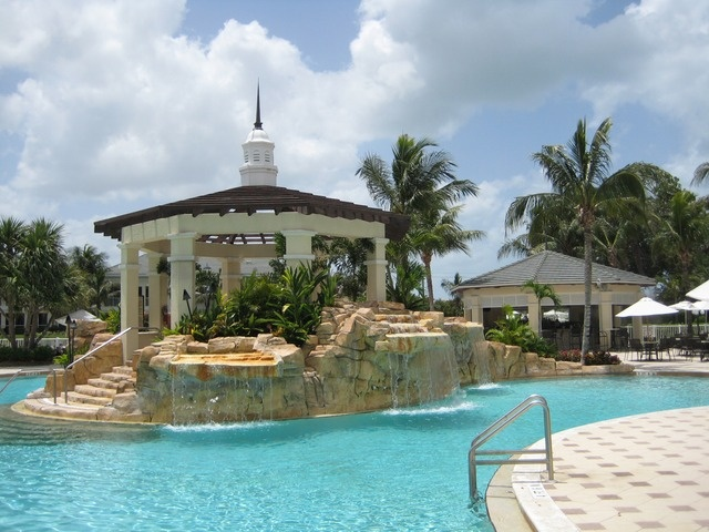 32 best images about resort style pools on pinterest for Pool design naples fl