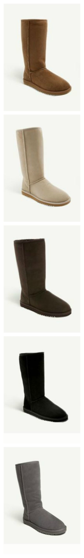 So classic & comfy. <3 UGG Boots.