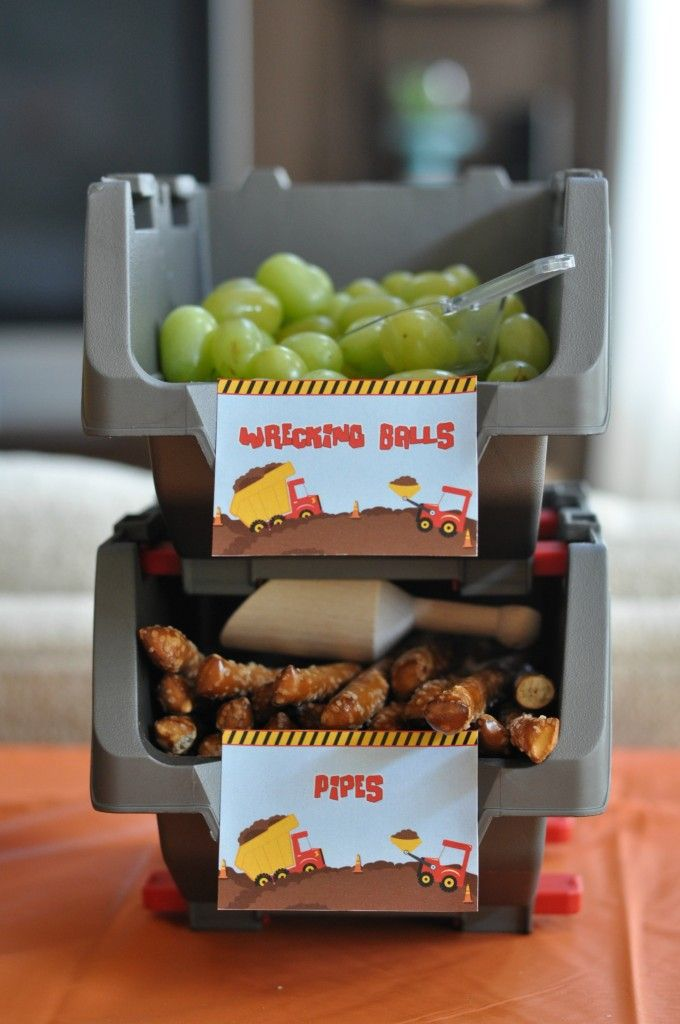 Best 25 construction party foods ideas on pinterest for Construction cuisine