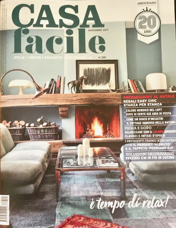 CASA FACILE - November 2017 - we are featured in it!