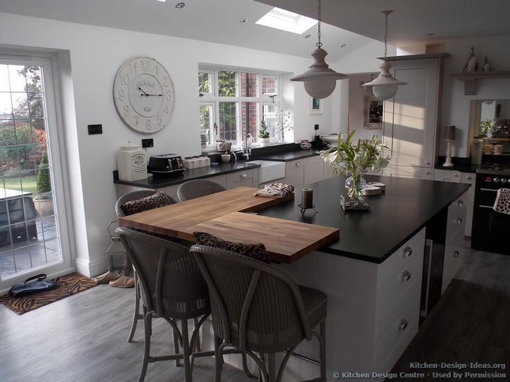 kitchen of the day: traditional shaker kitchen with minimalist