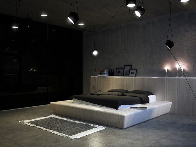 Elegant Style and Bedroom Lamps   Vintage Industrial Style