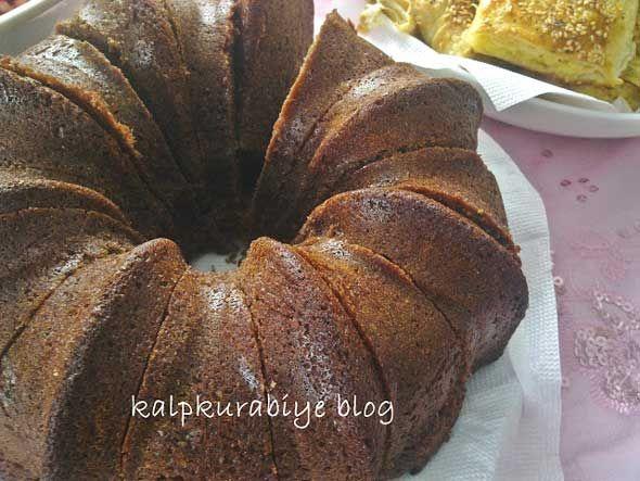 Portakallı Zencefilli Kakaolu Kek Tarifi