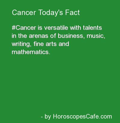 Ok. So, it's really creepy because these are all things I love lol guess I'm obviously a #Cancer