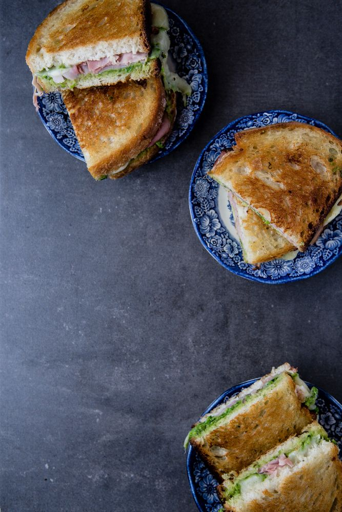 Grilled Ham And Cheese With Cornichon Spread Recipes — Dishmaps