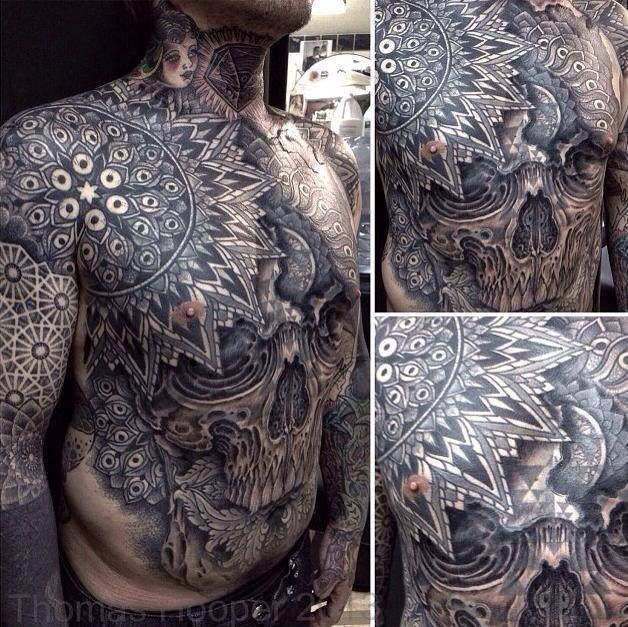 Some of these are just WOW!!       Best Chest Tattoos Of 2013 Jaw Dropping Ink Masterpieces