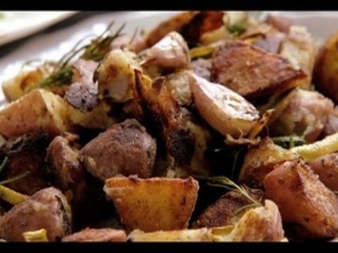 Receita de batata sautée com alho e alecrim
