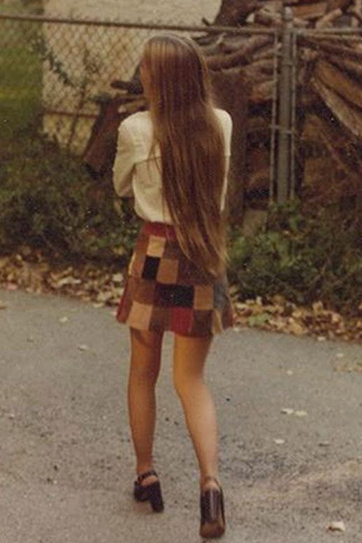 45 Incredible Street Style Shots From The '70s (Le Fashion) Photos via: Tru…