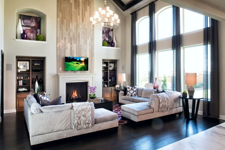 Home Design Ideas Pictures: This Family Room Has Space For Everyone! (Toll Brothers At