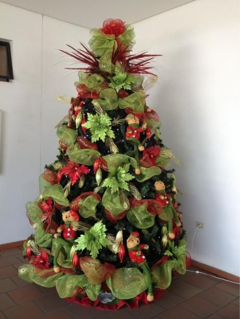 11 best rbol de navidad images on pinterest xmas trees for Arboles de decoracion
