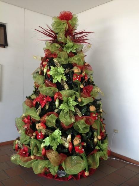 1000 ideas sobre decoraciones para rboles de navidad en - Decoracion arbol navidad ...