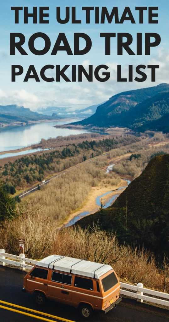 What to Pack for a Road Trip: The Ultimate Road Trip Packing List