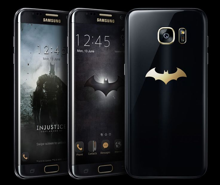 The Samsung Galaxy S7 edge Batman Inspired Phone is Real! | Geek Culture