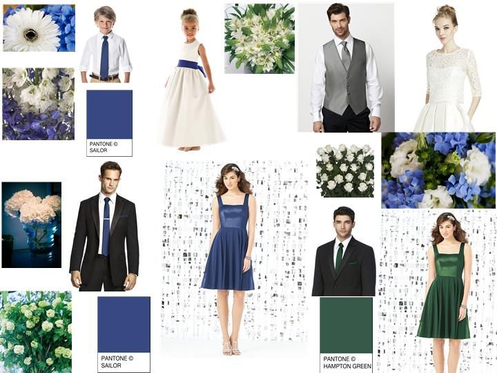 Wedding Pantone Fusion for your wedding | WEDDING STYLE BOARDS ...