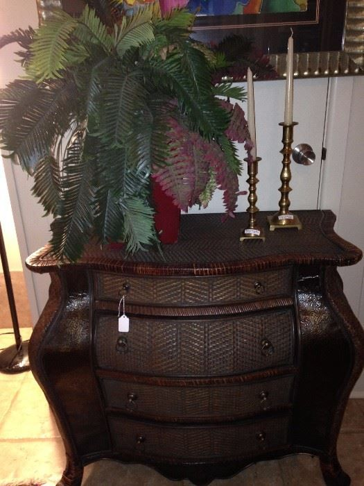 Four drawer Bombay chest; artificial plant; brass candlesticks  New Divide & Conquer sale starting this Thursday September 21-23, 2017 check out the details here:  http://divideandconquerofeasttexas.com/nextsales.php  #estatesales #consignments #consignment #tyler #tylertx #tylertexas #organizing #organizers #professionalorganizer #professionalorganizers #movingsale #movingsales #moving #sale #divideandconquer #divideandconquerofeasttexas #divideandconquereasttexas #marthadunlap #martha…