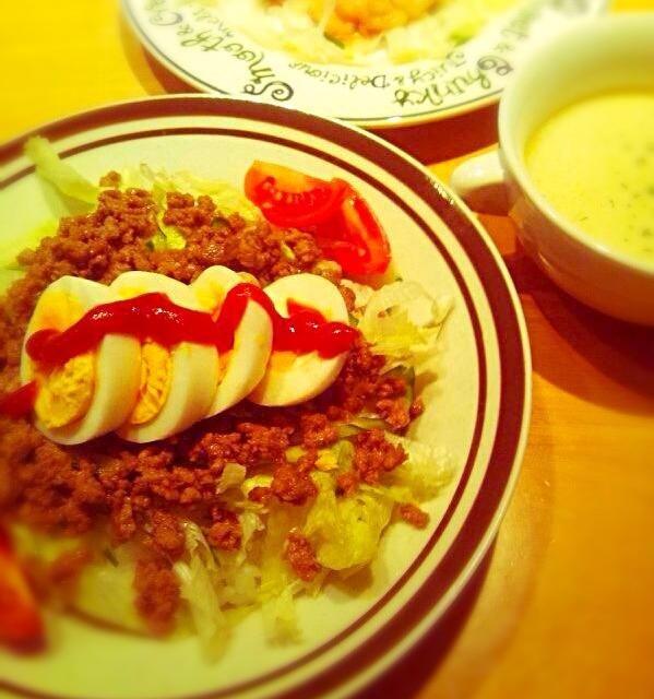 我が家のタコライスは焼肉のタレで♥︎ - 9件のもぐもぐ - 簡単タコライス☆ by mayumi3