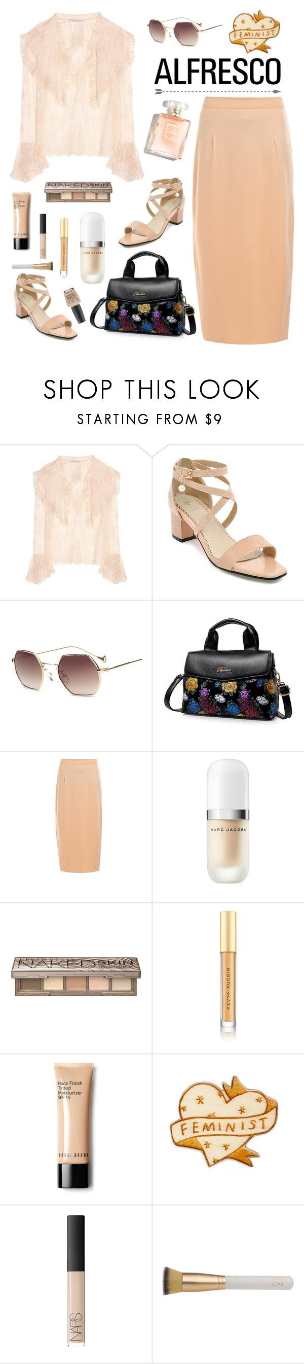 """""""Alfresco Dining"""" by arohii ❤ liked on Polyvore featuring Philosophy di Lorenzo Serafini, Marc Jacobs, Urban Decay, Kevyn Aucoin, Bobbi Brown Cosmetics, NARS Cosmetics, Eve Lom, OPI and alfrescodining"""