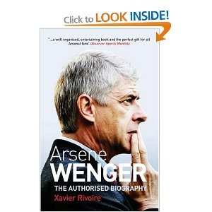 Arsene Wenger: The Biography    As a big Arsenal fan I thought this book was fascinating.