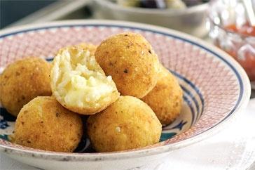risotto balls..