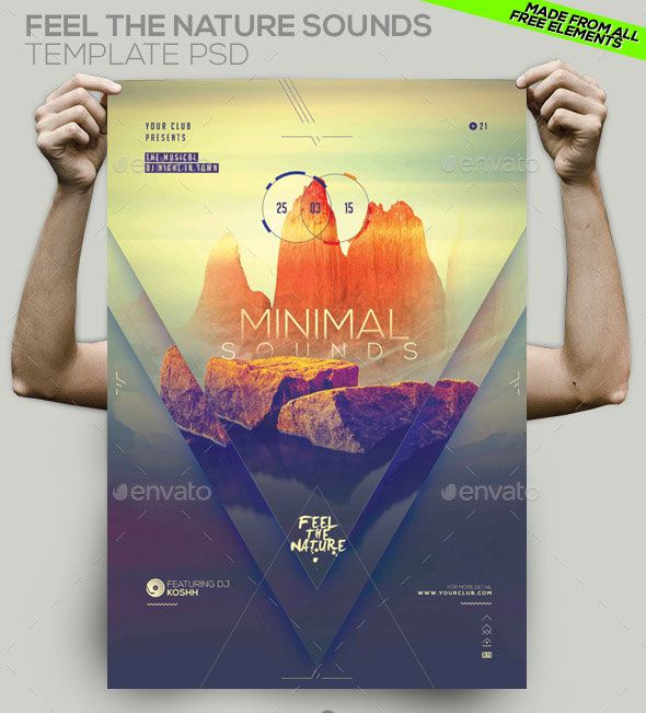 146 best Inspiration print design and templates images on - geometric flyer template