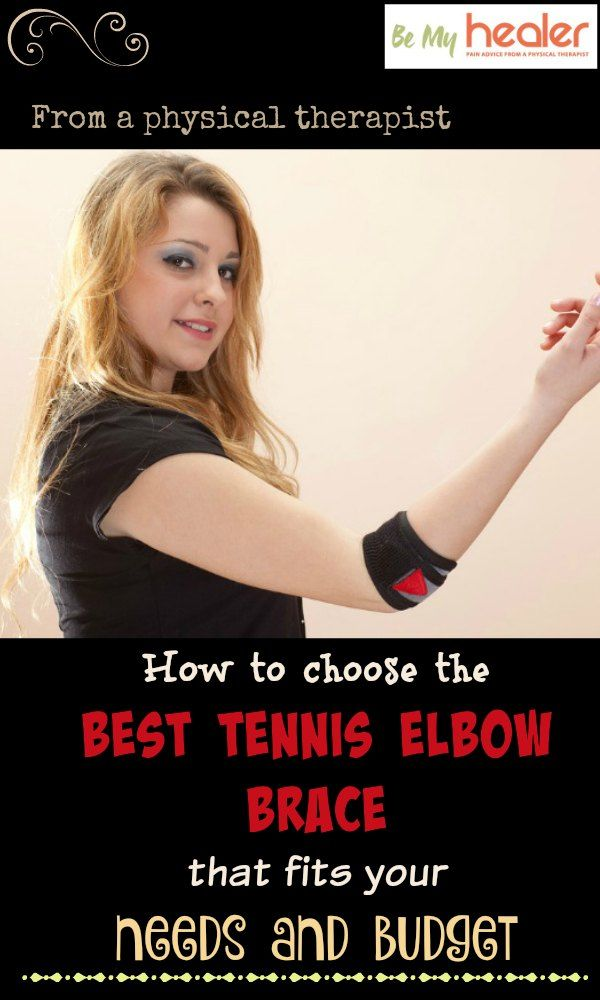 How to choose the best tennis elbow brace that fits your needs and budget http://bemyhealer.com/tennis-elbow-brace-pain-relief/