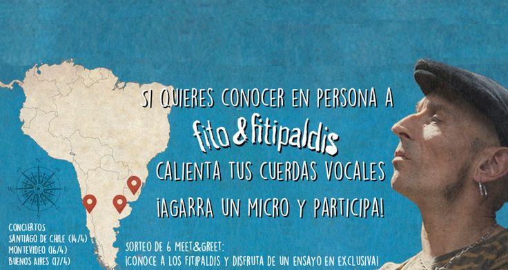 ¡Fito y Fitipaldis en La Trastienda Club de Montevideo!