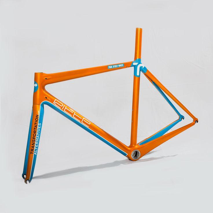 #PoseurSport custom painted ritte vlaanderen for  Transportation Alternatives' (TA) Paul Steely White