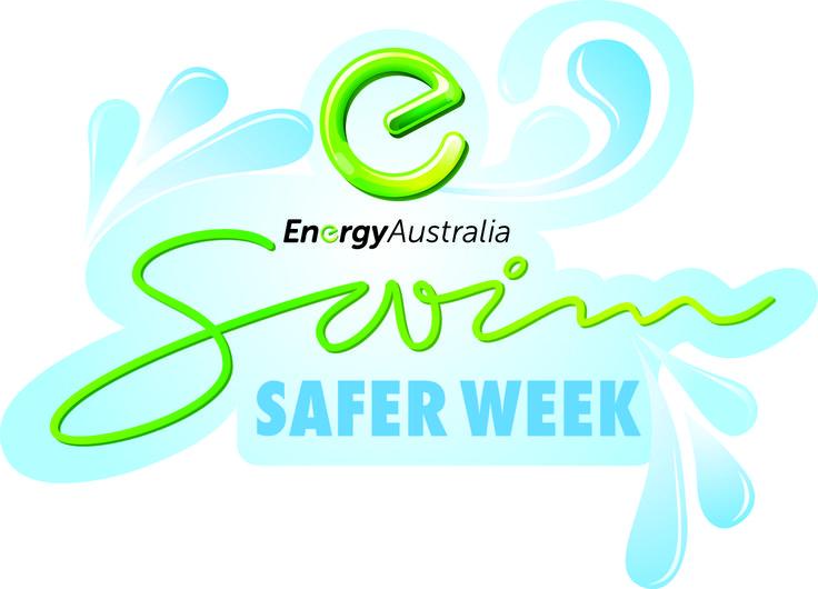 EnergyAustralia SwimSAFER lock up logo