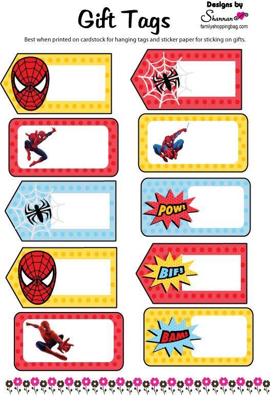undefined---http://www.familyshoppingbag.com/spiderman_printables.htm#.VShDq1I5DAX
