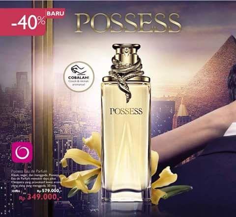 Posesess memikat jiwanya - Your Dreams - Our Inspiration. Posesess Eau de Parfum 50 ml disc. 40%  IDR 349.000 . diorder yuk SMS/WA 082112513182 or BBM 7F8C1BD1