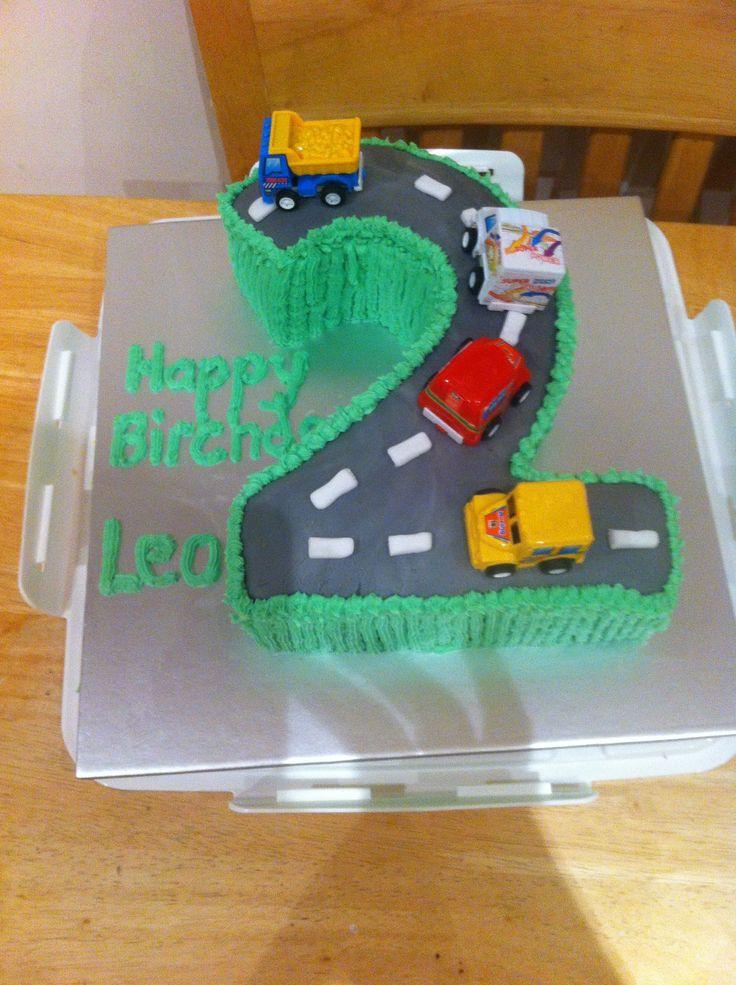 Leo's 2nd Birthday Cake