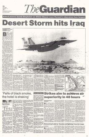 1991 ... War in the Gulf