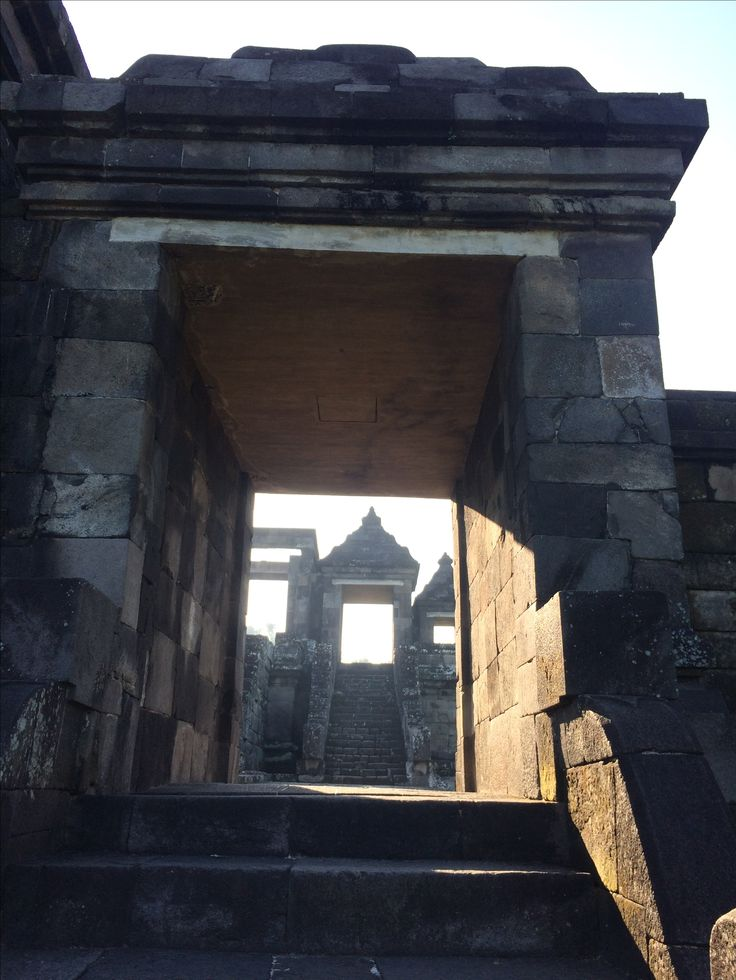 Gate of Kraton Ratu Boko - Prambanan, Sleman, Yogyakarta.
