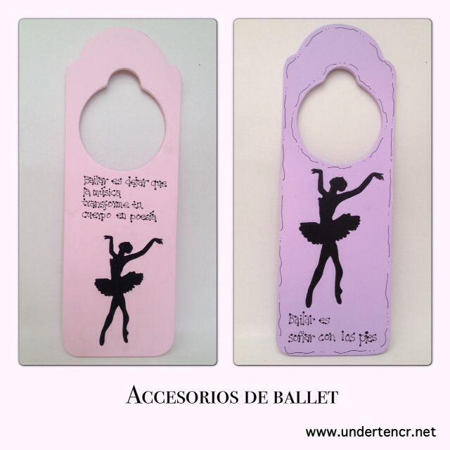 Ballet and jazz dancers deco