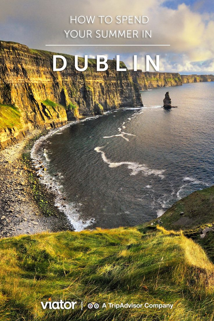 Summer months mean the Emerald Isle can finally enjoy sunny skies and even more eager travelers. Visitors who want to make the most of their trip to the capital city of Dublin, particularly during its sunnier days, have numerous options to dig deep into the culture and history of this iconic destination.